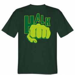Мужская футболка Hulk fist