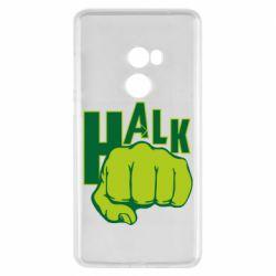 Чехол для Xiaomi Mi Mix 2 Hulk fist