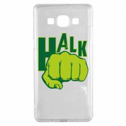 Чехол для Samsung A5 2015 Hulk fist