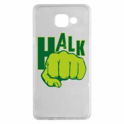 Чехол для Samsung A5 2016 Hulk fist