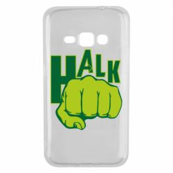 Чехол для Samsung J1 2016 Hulk fist