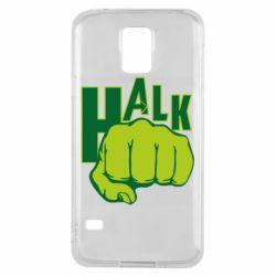 Чехол для Samsung S5 Hulk fist