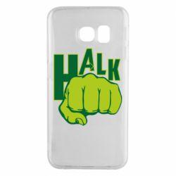 Чехол для Samsung S6 EDGE Hulk fist