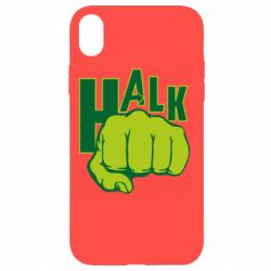 Чохол для iPhone XR Hulk fist