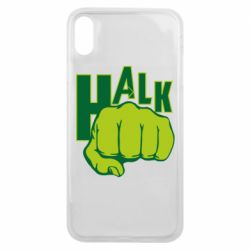 Чохол для iPhone Xs Max Hulk fist