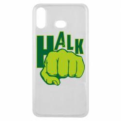 Чехол для Samsung A6s Hulk fist