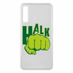 Чехол для Samsung A7 2018 Hulk fist