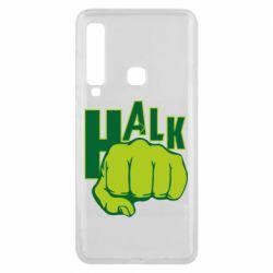 Чехол для Samsung A9 2018 Hulk fist