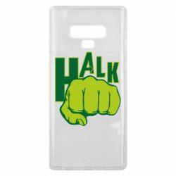 Чехол для Samsung Note 9 Hulk fist