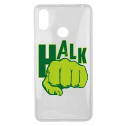 Чехол для Xiaomi Mi Max 3 Hulk fist