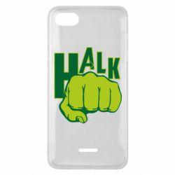 Чехол для Xiaomi Redmi 6A Hulk fist