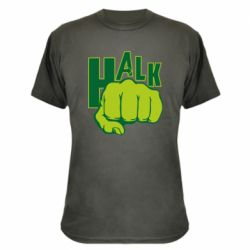 Камуфляжная футболка Hulk fist