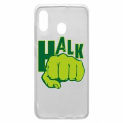 Чехол для Samsung A20 Hulk fist