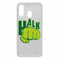 Чехол для Samsung A40 Hulk fist