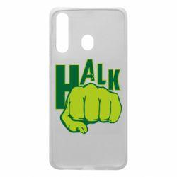 Чехол для Samsung A60 Hulk fist