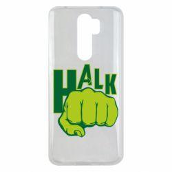 Чехол для Xiaomi Redmi Note 8 Pro Hulk fist