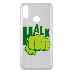 Чехол для Samsung A10s Hulk fist