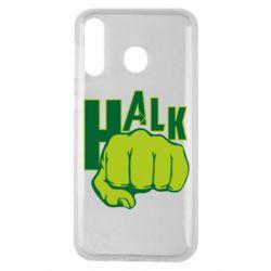 Чехол для Samsung M30 Hulk fist
