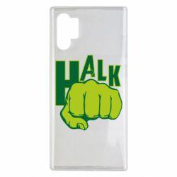 Чехол для Samsung Note 10 Plus Hulk fist