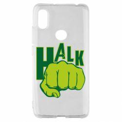 Чехол для Xiaomi Redmi S2 Hulk fist