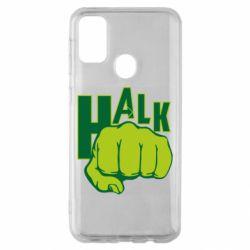 Чехол для Samsung M30s Hulk fist