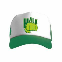 Детская кепка-тракер Hulk fist