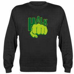 Реглан (свитшот) Hulk fist
