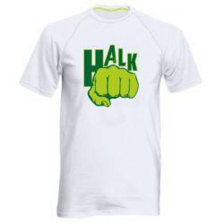 Мужская спортивная футболка Hulk fist