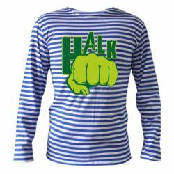 Тельняшка с длинным рукавом Hulk fist