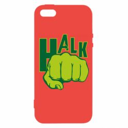 Чохол для iphone 5/5S/SE Hulk fist
