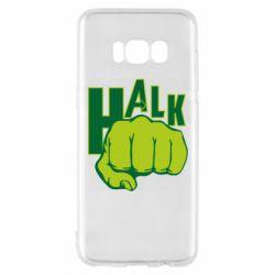 Чехол для Samsung S8 Hulk fist