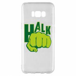 Чехол для Samsung S8+ Hulk fist