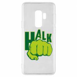 Чехол для Samsung S9+ Hulk fist