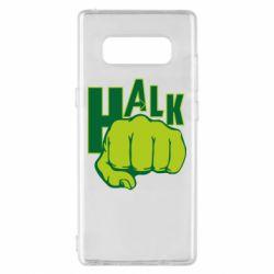 Чехол для Samsung Note 8 Hulk fist
