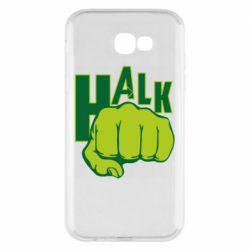 Чехол для Samsung A7 2017 Hulk fist