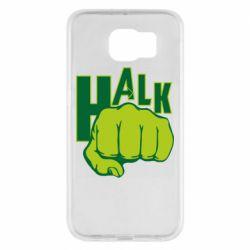 Чехол для Samsung S6 Hulk fist