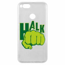 Чехол для Xiaomi Mi A1 Hulk fist
