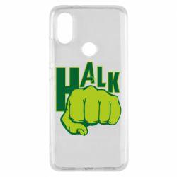 Чехол для Xiaomi Mi A2 Hulk fist
