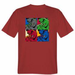 Мужская футболка Hulk pop art