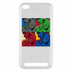 Чехол для Xiaomi Redmi 5A Hulk pop art