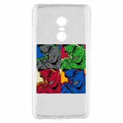 Чехол для Xiaomi Redmi Note 4 Hulk pop art