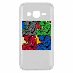 Чехол для Samsung J2 2015 Hulk pop art