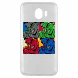 Чехол для Samsung J4 Hulk pop art