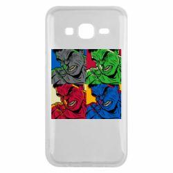 Чехол для Samsung J5 2015 Hulk pop art