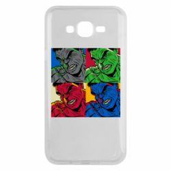 Чехол для Samsung J7 2015 Hulk pop art