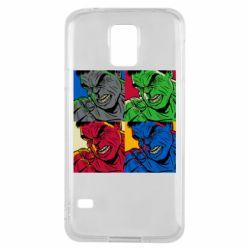 Чехол для Samsung S5 Hulk pop art