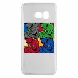 Чехол для Samsung S6 EDGE Hulk pop art