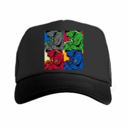 Кепка-тракер Hulk pop art