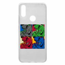 Чехол для Xiaomi Redmi 7 Hulk pop art