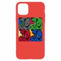 Чехол для iPhone 11 Hulk pop art